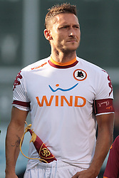 25 JUL 2012: AS Roma's Francesco Totti (10). AS Roma defeated Liverpool FC 2-1. Football at Fenway featured Liverpool FC and AS Roma at Fenway Park in Boston, Massachsetts on July 25, 2012.