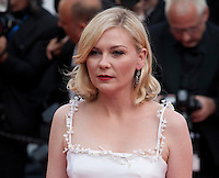 Actress Kirsten Dunst at the gala screening for the film Loving at the 69th Cannes Film Festival, Monday 16th May 2016, Cannes, France. Photography: Doreen Kennedy