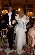 Petra Ecclestone and Nobojsa Bursac, Crillon 2004 Debutante Ball. Crillon Hotel. Paris. 26 November 2004. ONE TIME USE ONLY - DO NOT ARCHIVE  © Copyright Photograph by Dafydd Jones 66 Stockwell Park Rd. London SW9 0DA Tel 020 7733 0108 www.dafjones.com