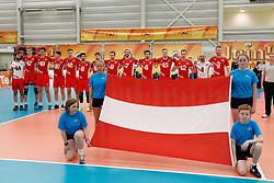 20170524 NED: 2018 FIVB Volleyball World Championship qualification, Koog aan de Zaan<br />Team Austria <br />©2017-FotoHoogendoorn.nl / Pim Waslander