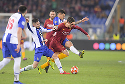 February 12, 2019 - Roma, Roma, Italia - Foto Luciano Rossi/AS Roma/ LaPresse.12/02/2019 Roma (Italia).Sport Calcio.AS Roma - Porto  .Uefa Champions League 2018 2019 - Stadio Olimpico di Roma.Nella foto: Nicolò Zaniolo..Photo  Luciano Rossi/AS Roma/ LaPresse.12/02/2019 Roma (Italia).Sport Soccer.AS Roma - Porto   .Uefa Champions League 2018 2019 - Olimpic Stadium of Roma (Italy).In the pic: Nicolò Zaniolo (Credit Image: © Luciano Rossi/Lapresse via ZUMA Press)