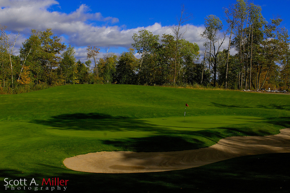 Sept. 19, 2006; Brainerd, Minn., USA; No. 8 on Golden Eagle Golf Club part of the Brainerd Golf Trail in Minnesota..                ©2006 Scott A. Miller