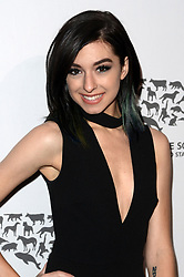 May 7, 2016 - Los Angeles, CA, USA - LOS ANGELES - MAY 7:  Christina Grimmie at the Humane Society Of The United States LA Gala at the Paramount Studios on May 7, 2016 in Los Angeles, CA  (Credit Image: © Hpa via ZUMA Wire)