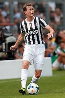 Stephan Lichtsteiner Juventus, Saint Vincent 17/7/2013 <br /> Partita amichevole Juventus vs Dilettanti Valdostani<br /> Football Calcio 2013/2014 Serie A<br /> Foto Marco Bertorello Insidefoto