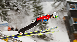 30.12.2011, Schattenbergschanze / Erdinger Arena, GER, Vierschanzentournee, FIS Weldcup, Probedurchgang, Ski Springen, im Bild David Winkler (GER) // David Winkler of Germany  during the trial round at 60th Four-Hills-Tournament, FIS World Cup in Oberstdorf, Germany on 2011/12/30. EXPA Pictures © 2011, PhotoCredit: EXPA/ P.Rinderer