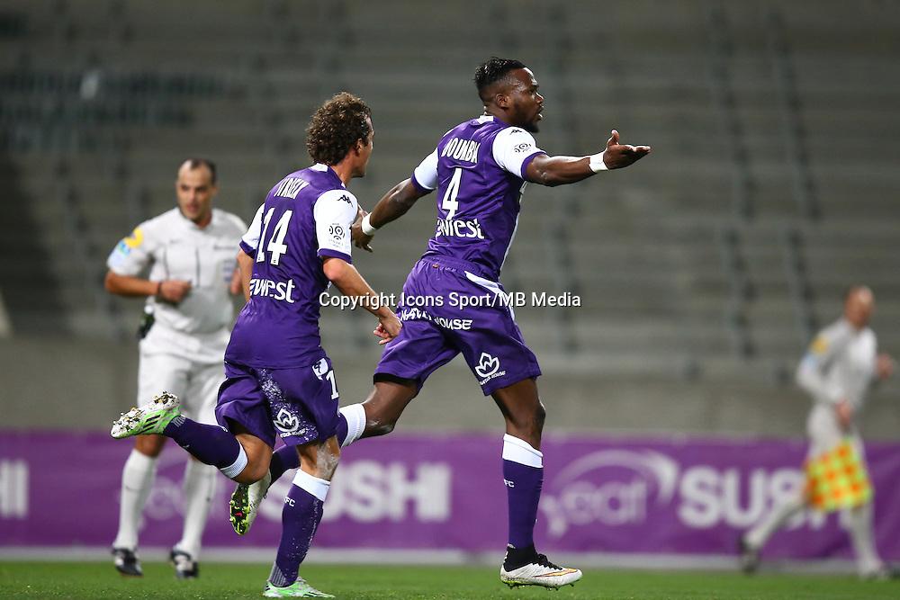 Joie Tongo Doumbia - 20.12.2014 - Toulouse / Guingamp - 19eme journee de Ligue 1 <br /> Photo : Manuel Blondeau / Icon Sport