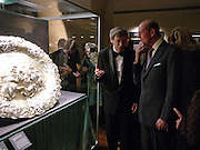 Exhibtion Curator: Dr. Andras Szilagyi and The Duke of Kent, Opening of Hungary's Heritage-Princely Treasures from the Esterhaxy Collection. The Gilbert collection. Somerset House. 25 October 2004. ONE TIME USE ONLY - DO NOT ARCHIVE  © Copyright Photograph by Dafydd Jones 66 Stockwell Park Rd. London SW9 0DA Tel 020 7733 0108 www.dafjones.com