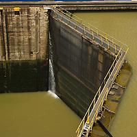 Miraflores Locks, Panama Canal, Central America
