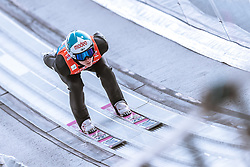 24.02.2019, Bergiselschanze, Innsbruck, AUT, FIS Weltmeisterschaften Ski Nordisch, Seefeld 2019, Skisprung, Herren, Teambewerb, Probesprung, im Bild Antti Aalto (FIN) // Antti Aalto of Finland during the trial jump for the men's skijumping team competition of FIS Nordic Ski World Championships 2019 at the Bergiselschanze in Innsbruck, Austria on 2019/02/24. EXPA Pictures © 2019, PhotoCredit: EXPA/ Dominik Angerer