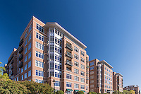 Baltimore Architectural image of Crescent Apartments of Fells Point by Jeffrey Sauers of Commercial Photographics, Architectural Photo Artistry in Washington DC, Virginia to Florida and PA to New England