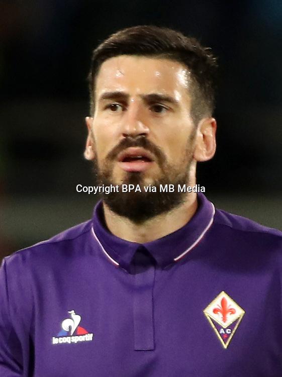 Italian League Serie A -2016-2017 / <br /> ( ACF Fiorentina ) - <br /> Nenad Tomovic
