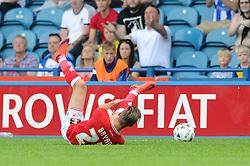Joe Bryan of Bristol City goes down injured and is later replaced - Mandatory byline: Dougie Allward/JMP - 07966386802 - 08/08/2015 - FOOTBALL - Hillsborough Stadium -Sheffield,England - Sheffield Wednesday v Bristol City - Sky Bet Championship