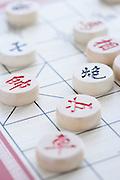 Chinese Chess Game close up
