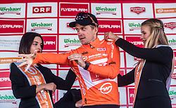 10.07.2019, Fuscher Törl, AUT, Ö-Tour, Österreich Radrundfahrt, Siegerehrung der 4. Etappe, von Radstadt nach Fuscher Törl (103,5 km), im Bild Bester Österreicher Riccardo Zoidl (CCC Team, AUT) // during winner ceremony for the 4th stage from Radstadt to Fuscher Törl (103,5 km) of the 2019 Tour of Austria. Fuscher Törl, Austria on 2019/07/10. EXPA Pictures © 2019, PhotoCredit: EXPA/ JFK