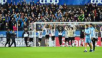 Football Playoff UEFA Europa League<br /> Rosenborg - Ajax<br /> Lerkendal Stadium, Trondheim, Norway<br /> 24 august 2017<br /> <br /> Rosenborg-gutta takker publikum<br /> <br /> <br /> <br /> Foto : Arve Johnsen, Digitalsport