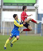 Partido de tercera disputado entre el Palamós como equipo local y el Balaguer..COPYRIGHT: TONI VILCHES FOTOGRAFIA.