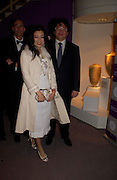 Rebecca Wang and Bruno Wang. The Grosvenor House Art and Antiques Fair charity Gala evening in aid of the NSPCC. 16 June2005. ONE TIME USE ONLY - DO NOT ARCHIVE  © Copyright Photograph by Dafydd Jones 66 Stockwell Park Rd. London SW9 0DA Tel 020 7733 0108 www.dafjones.com