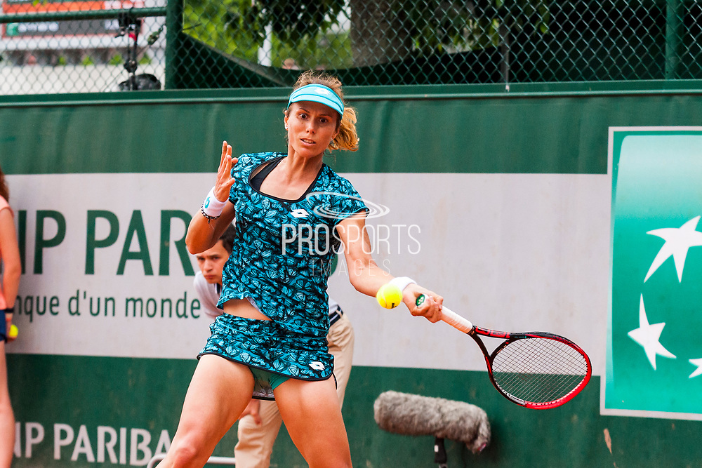 Varvara Lepchenko (usa) during the Roland Garros French Tennis Open 2018, day 2, on May 28, 2018, at the Roland Garros Stadium in Paris, France - Photo Pierre Charlier / ProSportsImages / DPPI