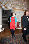 THE COUNTESS OF NORMANBY, David Campbell and Knopf host the 20th Anniversary of the revival of Everyman's Library. Spencer House. St. James's Place. London. 7 July 2011. <br /> <br />  , -DO NOT ARCHIVE-© Copyright Photograph by Dafydd Jones. 248 Clapham Rd. London SW9 0PZ. Tel 0207 820 0771. www.dafjones.com.
