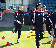 Dundee keeper Scott Bain  - Dundee FC itraining at Dens Park, Dundee, Photo: David Young<br /> <br />  - &copy; David Young - www.davidyoungphoto.co.uk - email: davidyoungphoto@gmail.com