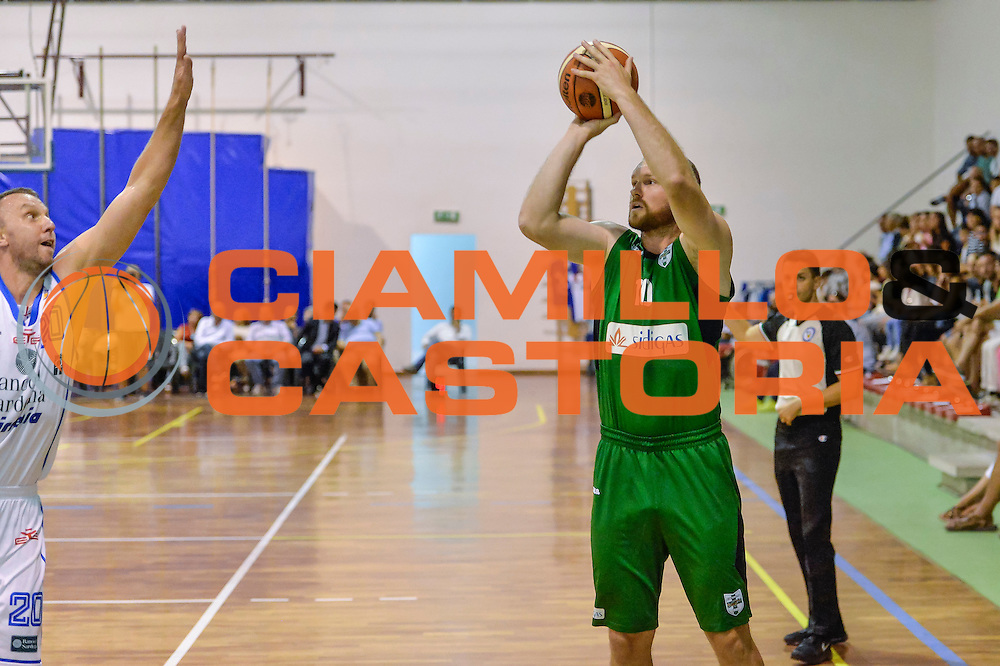 Maarten Leunen<br /> Banco di Sardegna Dinamo Sassari - Sidigas Scandone Avellino<br /> Precampionato 2016/2017<br /> Padru 07/09/2016<br /> Foto Ciamillo-Castoria