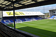 Boundary park before the Sky Bet League 1 match between Oldham Athletic and Bradford City at Boundary Park, Oldham, England on 5 September 2015. Photo by Mark Pollitt.