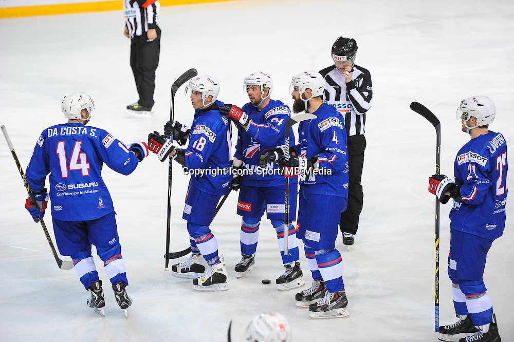 Joie France - 24.04.2015 - France / Suisse - Match Amical -Grenoble<br />Photo : Jean Paul Thomas / Icon Sport