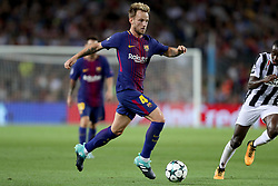 September 12, 2017 - Barcelona, Spain - Ivan Rakitic of FC Barcelona during the UEFA Champions League, Group D football match between FC Barcelona and Juventus FC on September 12, 2017 at Camp Nou stadium in Barcelona, Spain. (Credit Image: © Manuel Blondeau via ZUMA Wire)