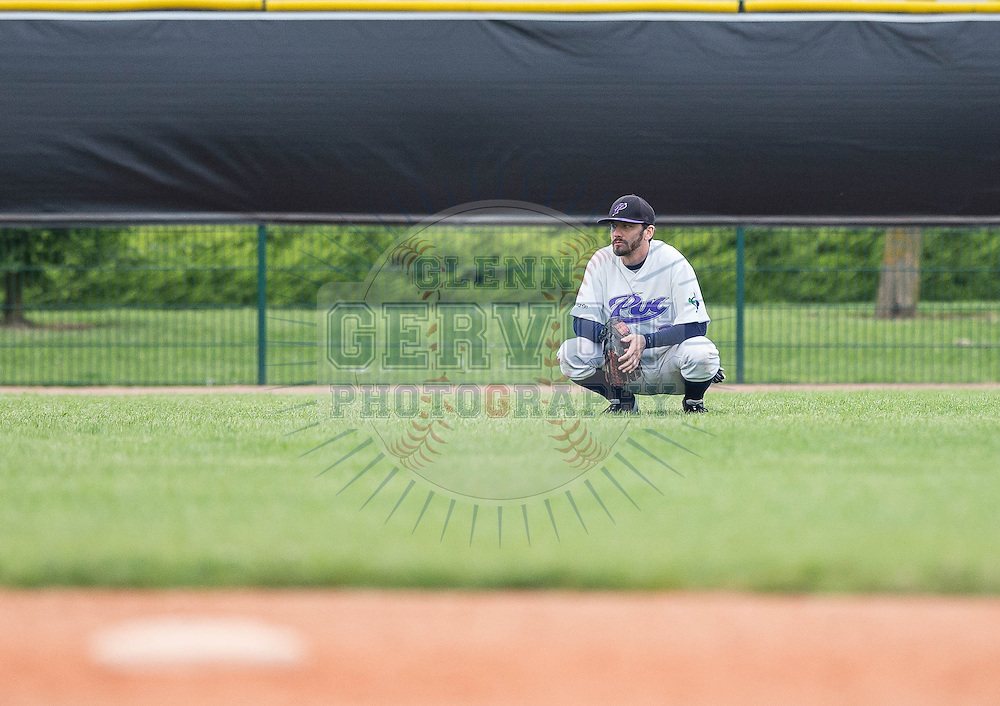Shots from France Baseball Division 1 Challenge de France 2015 first semi final opposing the PUC against The Senart Templiers. Game won by Senart 8-4 in 9 innings.<br /> Credit : Glenn Gervot