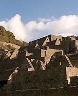 Ruins of the Inca city of Machu Picchu, Cusco region, Peru.
