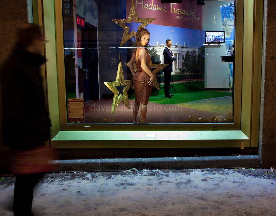 Passebery meeting the stars: Jennifer Lopez at Madame Tussauds, Amsterdam