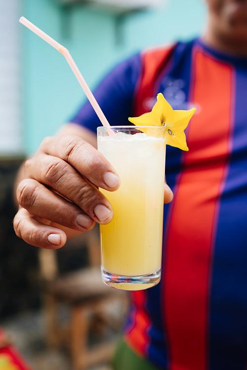 Cocktails in Vinales, Cuba