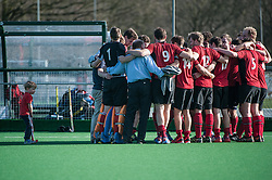 Southgate v Old Loughtonians, Trent Park, London, UK on 15 March 2014. Photo: Simon Parker