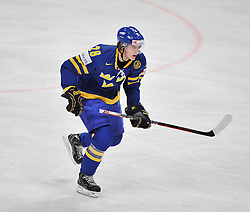 09.05.2012, Ericsson Globe, Stockholm, SWE, IIHF, Eishockey WM, Deuschland (GER) vs Schweden (SWE), im Bild 28 Jonas Brodin (Fa¨rjestads BK) Sverige Sweden 28 Jonas Brodin (Fa¨rjestads BK) // during the IIHF Icehockey World Championship Game between Germany (GER) and Sweden (SWE)at the Ericsson Globe, Stockholm, Sweden on 2012/05/09. EXPA Pictures © 2012, PhotoCredit: EXPA/ PicAgency Skycam/ Simone Syversson..***** ATTENTION - OUT OF SWE *****
