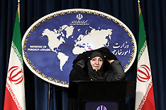 SEP 10 2013 Iranian new Foreign Ministry spokeswoman Marzieh Afkham