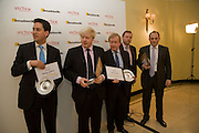 ED MILIBAND; BORIS JOHNSON; OTHER WINNERS, Spectator Parliamentarian Of The Year Awards<br />