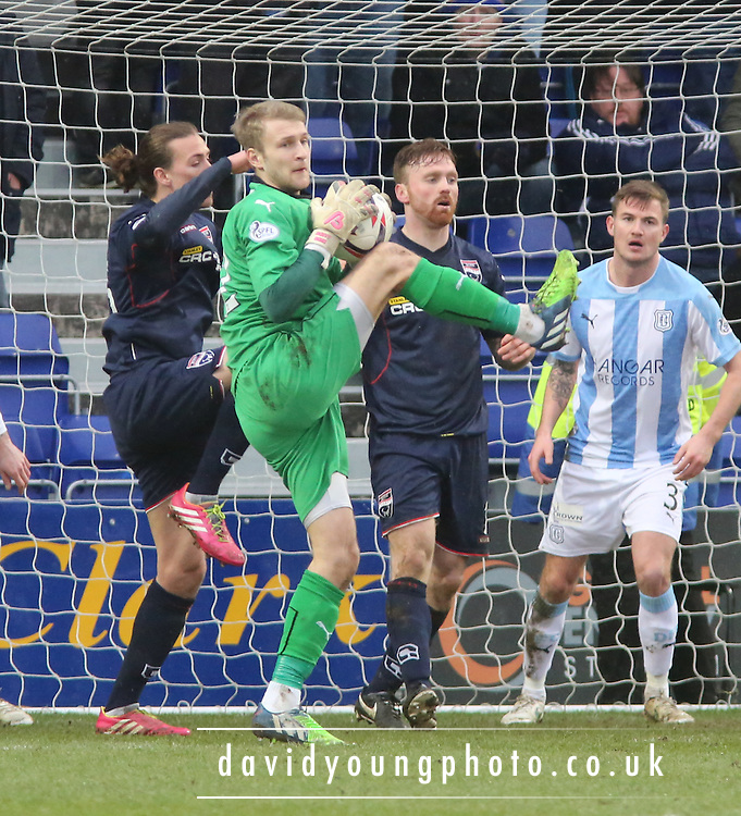 Scott Bain - Ross County v Dundee, SPFL Premiership at The Global Energy Stadium<br /> <br />  - &copy; David Young - www.davidyoungphoto.co.uk - email: davidyoungphoto@gmail.com