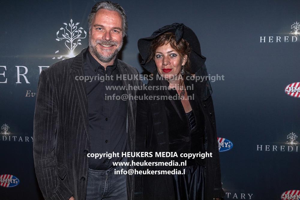 Pathe Tuschinski, Amsterdam. Nederlandse premiere van Hereditary. Op de foto:
