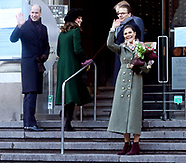 Crown Princess Victoria, Kate , Princes Daniel & Will - Sweden