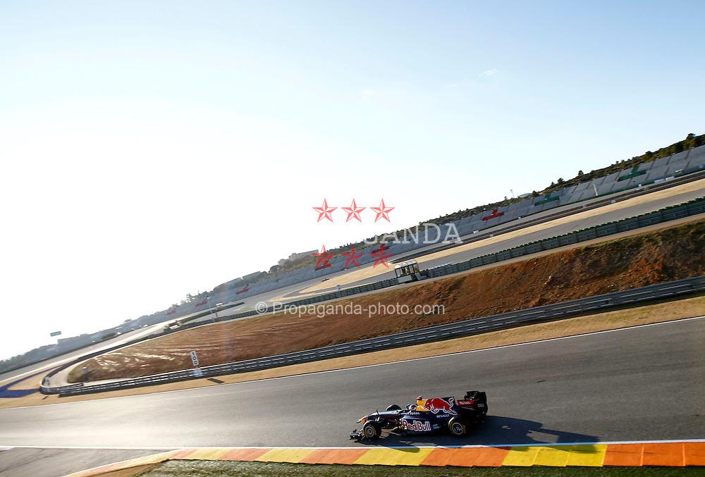 Motorsports / Formula 1: World Championship 2011, Test Valencia, Sebastian Vettel (GER, Red Bull Racing),