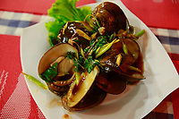 clams-street food night restaurants- siem reap