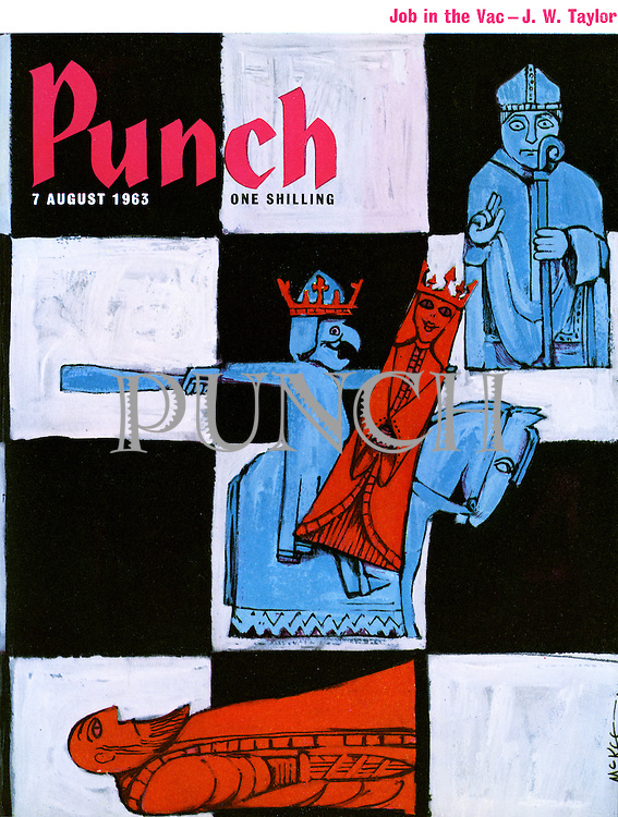 Punch cover 7 August 1963