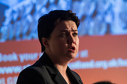 Pictured: Ruth Davidson<br /> <br /> Party leaders Nicola Sturgeon, Kezia Dugdale, Ruth Davidson, Willie Rennie and Patrick Harvie faced questions from the public at an LGBTI election hustings event arranged by Stonewall Scotland, LGBT youth Scotland, Equaity Network and The Scottish Equality Network at the Royal College of Surgeons of Edinburgh. Edinburgh. 31 March 2016<br /> <br /> Ger Harley | Edinburghelitemedia.co.uk