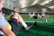 ROTC in Walter Fieldhouse. © Ohio University / Photo by Ben Siegel