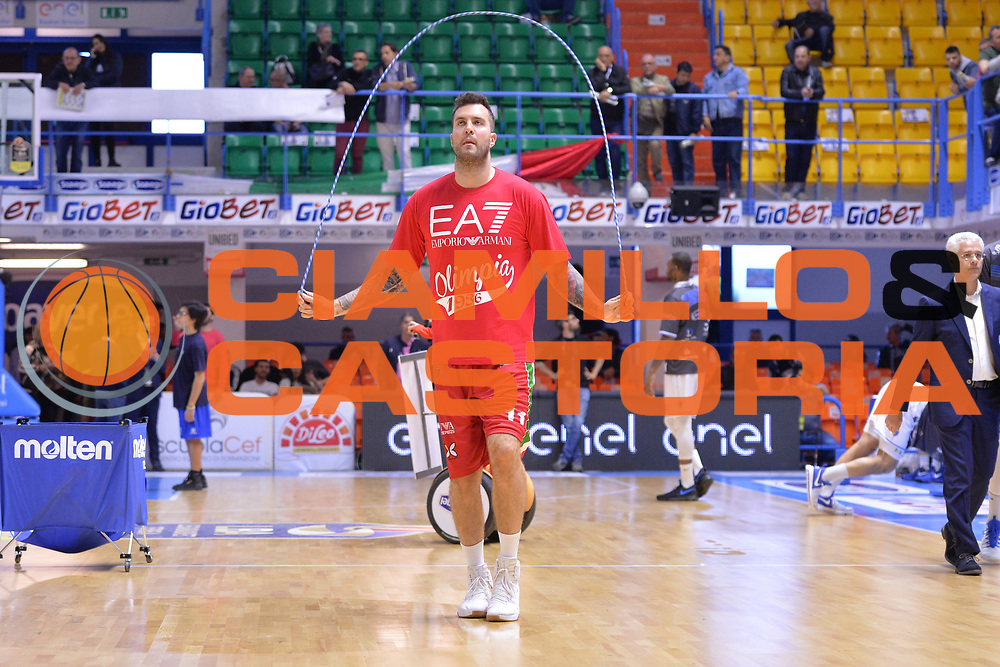 Raduljica Miroslav<br /> Enel Brindisi - EA7 Emporio Armani Milano<br /> BASKET Serie A 2016-2017<br /> Brindisi 15/04/2017<br /> FOTO CIAMILLO / M.Longo
