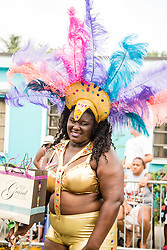 Tisha Alexander.  VI Trensettaz.  Coming Together Culturally on the Scene for St. John Festival 2015.  St. John 4th of July Parade.  4 July 2015. ©Aisha-Zakiya Boyd