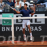 Roma 16/05/2017  Centrale del foro italico<br /> Novak DJOKOVIC (SRB) vs Aljaz BEDENE (GBR )<br /> <br /> <br /> Novak DJOKOVIC