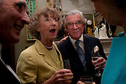 LINDY GUINNESS, MARCHIONESS OF DUFFERIN AND AVA; SIR JOHN SAINSBURY, David Campbell and Knopf host the 20th Anniversary of the revival of Everyman's Library. Spencer House. St. James's Place. London. 7 July 2011. <br /> <br />  , -DO NOT ARCHIVE-© Copyright Photograph by Dafydd Jones. 248 Clapham Rd. London SW9 0PZ. Tel 0207 820 0771. www.dafjones.com.