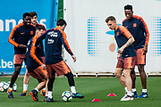 Leo Messi from Argentina of FC Barcelona during the training before the Spanish championship La Liga football match between FC Barcelona and Real Madrid on May 5, 2018 at Ciutat Esportiva Joan Gamper in Barcelona, Spain - Photo Xavier Bonilla / Spain ProSportsImages / DPPI / ProSportsImages / DPPI