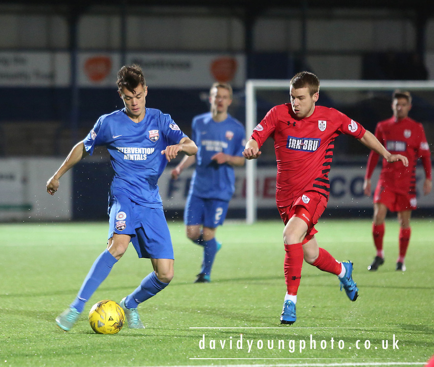 Jesse Curran - Montrose v Queens Park - SPFL Division 2 at Links Park<br /> <br />  - &copy; David Young - www.davidyoungphoto.co.uk - email: davidyoungphoto@gmail.com
